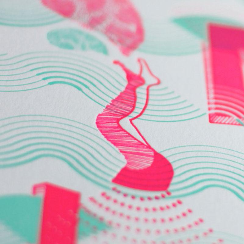 Letterpress de Paris X Daniella